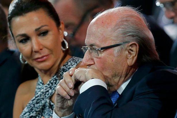 Sepp Blatter khang dinh minh chi la nan nhan hinh anh