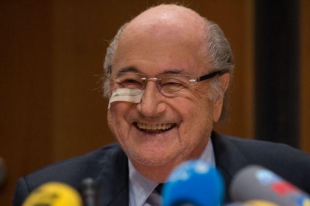 Sepp Blatter: 'Toi chi la nan nhan' hinh anh 1