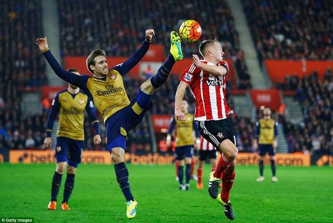 Tong hop tran dau: Southampton 4-0 Arsenal hinh anh