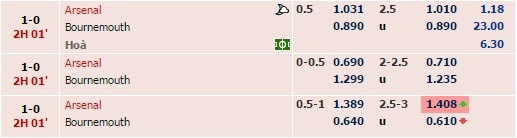 Arsenal 2-0 Bournemouth: Oezil giup Phao thu len ngoi dau hinh anh 17