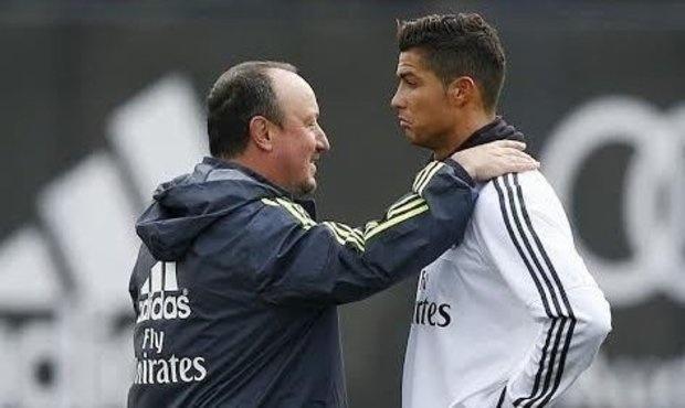 Benitez mat viec vi Ronaldo choi te o tran cau lon? hinh anh