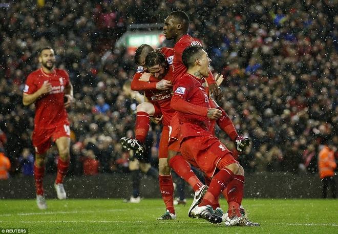 Liverpool 3-3 Arsenal: Klopp vo oa sau ban thang phut 90 hinh anh 2
