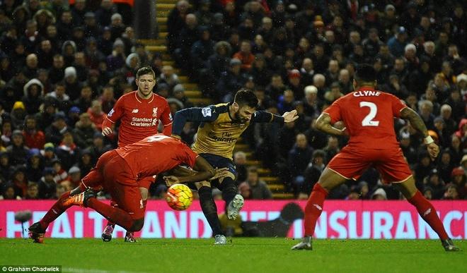 Liverpool 3-3 Arsenal: Klopp vo oa sau ban thang phut 90 hinh anh 9