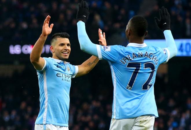 Aguero lap cu dup giup Man City ha Crystal Palace 4-0 hinh anh 2