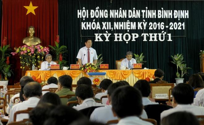 Bi thu Tinh uy Binh Dinh tai dac cu Chu tich HDND tinh hinh anh 1