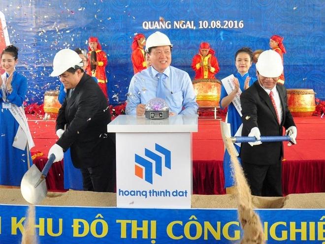Hon 2.000 ty xay them khu cong nghiep do thi o Quang Ngai hinh anh