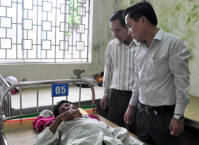 Quang Ngai lai xuat hien benh day sung ban tay, ban chan hinh anh