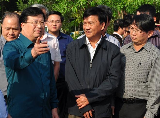 Pho thu tuong Trinh Dinh Dung: 'Khong de dan doi, ret do lu' hinh anh