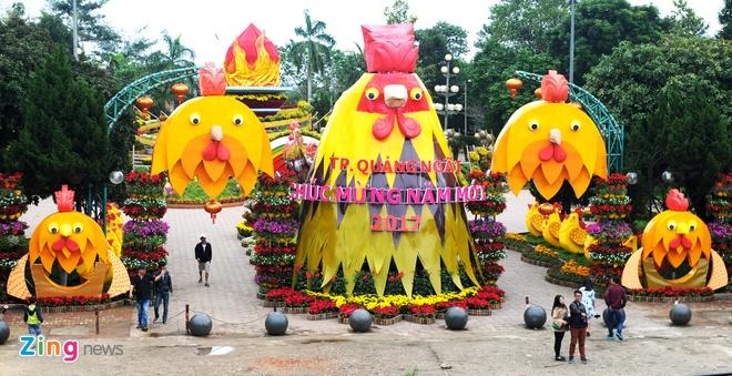 Linh vat Tet 'mai am hanh phuc' o Quang Ngai hinh anh 1