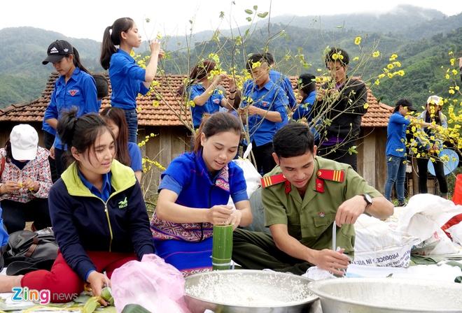 Xuan tinh nguyen Quang Ngai anh 6