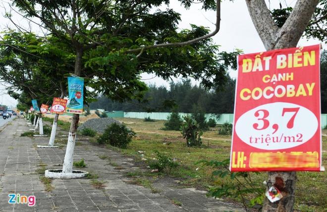 Loan gia dat quanh du an Cocobay Da Nang hinh anh