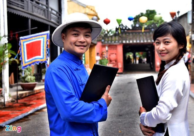 Tai hien pho co Hoi An tram nam truoc hinh anh