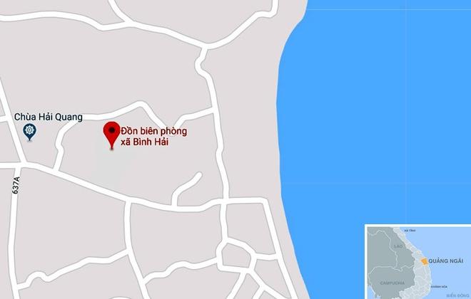 Quang Ngai de nghi doi Don Bien phong de lam quan the du lich hinh anh 2