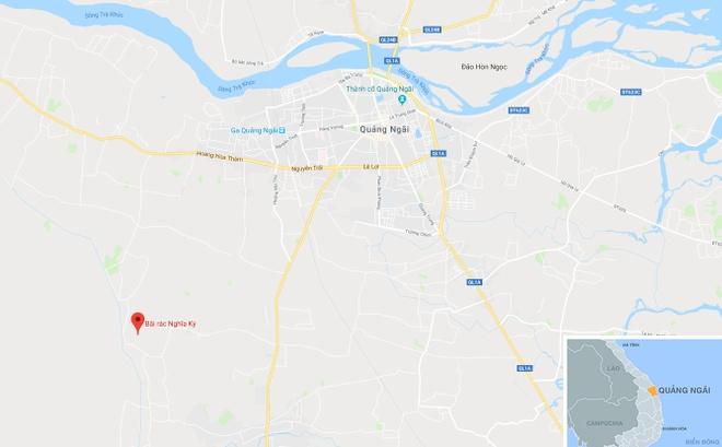 Quang Ngai cap toc chuyen rac thai vuot hon 40 km xu ly hinh anh 3
