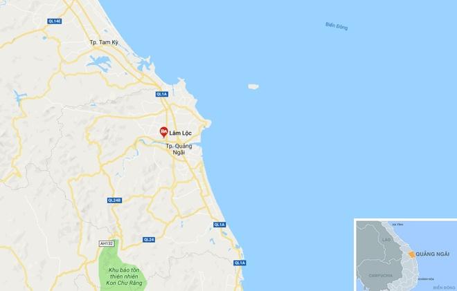 Tai nan chet nguoi tren cao toc Da Nang - Quang Ngai hinh anh 3
