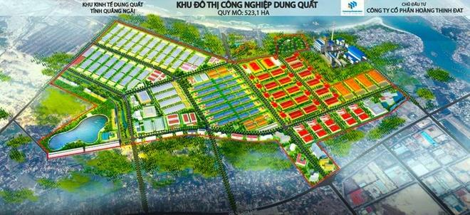 Chu dau tu KCN Dung Quat chua tra 123 ty cho Quang Ngai hinh anh 2