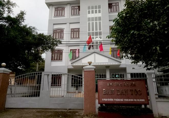 Canh cao Pho ban Dan van Quang Ngai vi bao che sai pham cua cap duoi hinh anh 1