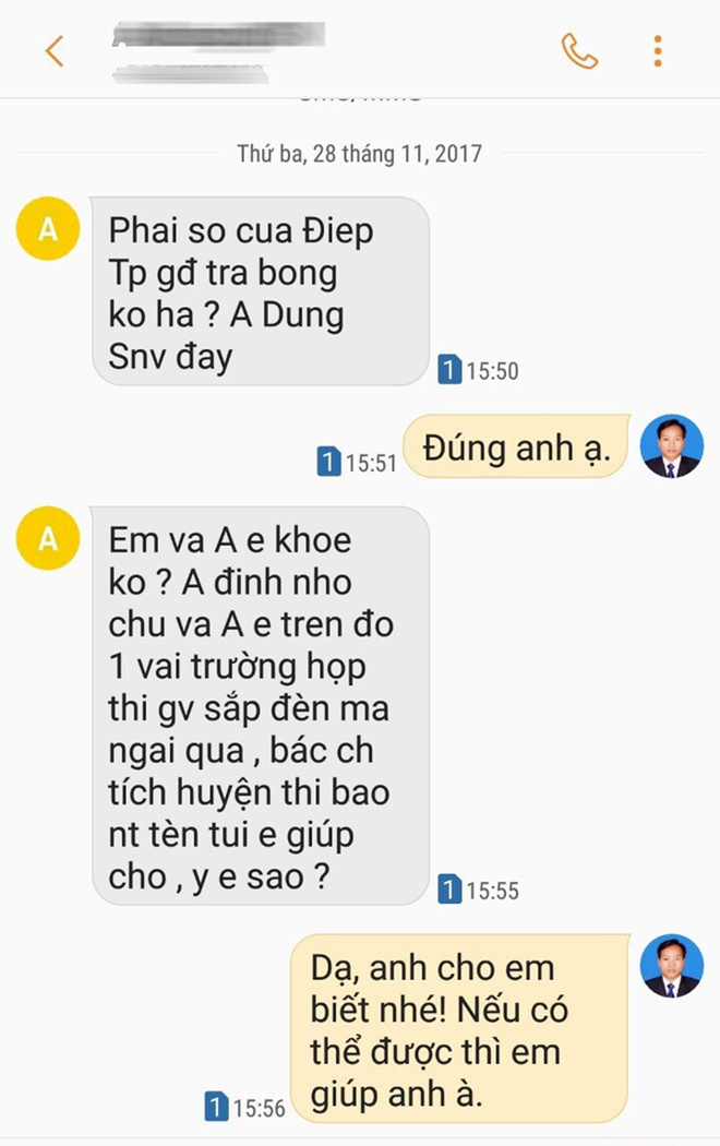 Giam doc So Noi vu Quang Ngai 'gui gam' nguoi than thi vien chuc hinh anh 2