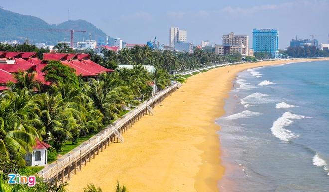 Bình Định dời 3 khách sạn lớn, trả lại cảnh quan cho bờ biển Quy Nhơn