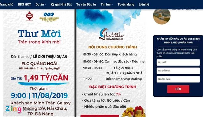 Rao ban dat du an do thi FLC Quang Ngai tran lan tai Da Nang hinh anh 2