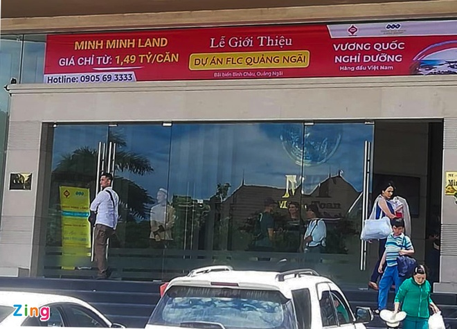 Rao ban dat du an do thi FLC Quang Ngai tran lan tai Da Nang hinh anh 1