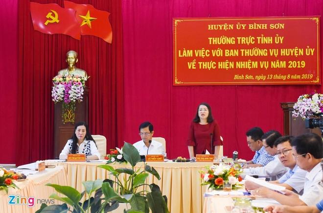 Quang Ngai yeu cau dung ngay viec rao ban trai phep dat du an FLC hinh anh 1