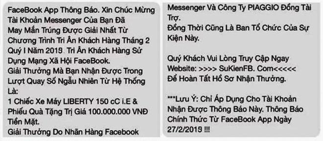 Nhieu nguoi Binh Dinh sap bay lua qua Facebook, mat hang tram trieu hinh anh 1