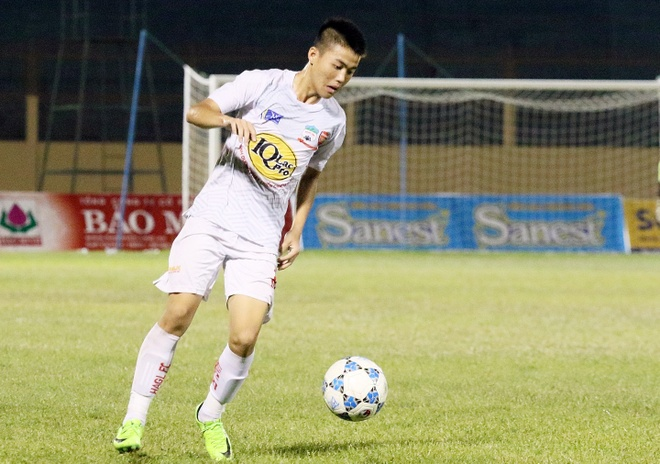 U19 HAGL co loi the phat trien hon so voi lua Cong Phuong,  Van Toan anh 1
