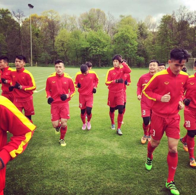 U20 Viet Nam mat Tien Dung vi gay xuong quai xanh anh 1