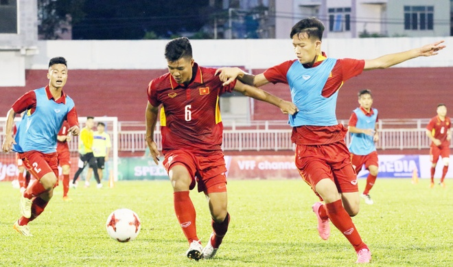 U20 Viet Nam co nhieu noi lo cho chien dich U20 World Cup. anh 1