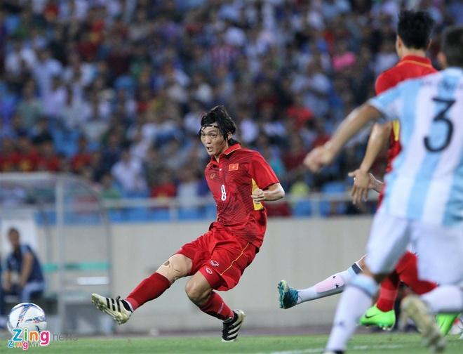 U22 Viet Nam thua 0-5 truoc U20 Argentina la binh thuong anh 1