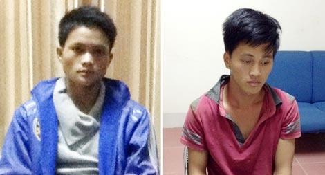 Cuoc truy tim nhung ga trai sanh dieu tren Facebook hinh anh 1 Hai nghi can Thào Seo Lao và Vàng Seo Vu khi bị bắt.
