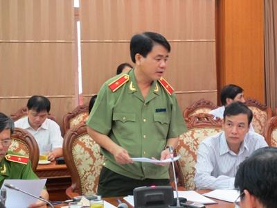 Tuong Chung len tieng viec Ha Noi bi xep top 10 nan moc tui hinh anh 1 Thiếu tướng Nguyễn Đức Chung, Giám đốc Công an Hà Nội.