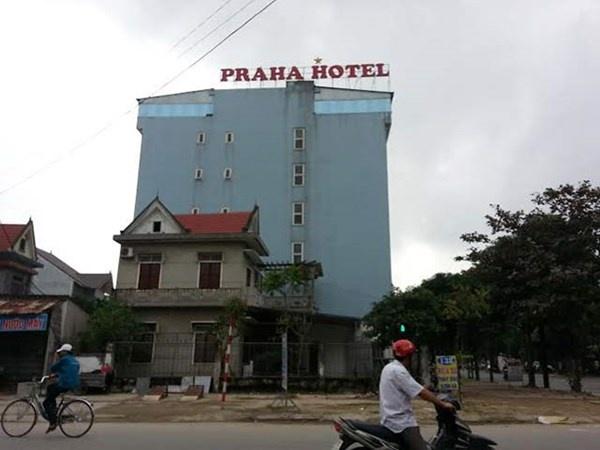 Duong day chan dai ban dam toan la sinh vien hinh anh 2 Nhà nghỉ Praha Hotel, nơi Hoài tổ chức môi giới mại dâm cho nữ sinh viên trong đường dây của mình.
