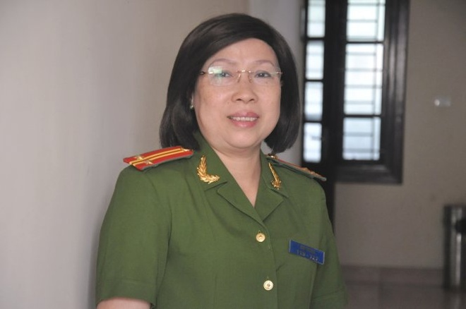 Nu si quan pha an ma tuy hinh anh 1 Trung tá Chu Thị Hoa, người công dân ưu tú của thủ đô - Ảnh: Quang Thế