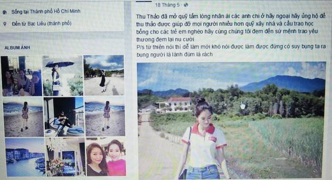 Ke mao danh quan ly Hoa hau Thu Thao lua dao the nao? hinh anh 1