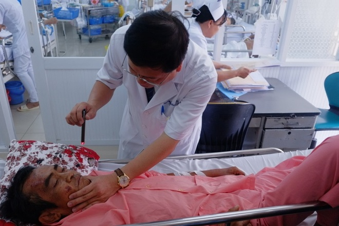 Ong Huynh Van Nen bi dap nao thai duong hinh anh 1