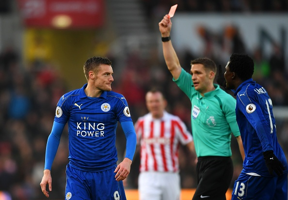 Leicester 'meo mat' vi an phat cua Jamie Vardy hinh anh 1