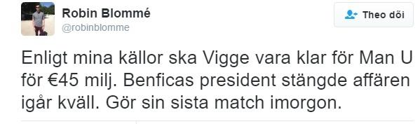 MU mua Victor Lindelof voi gia 45 trieu euro hinh anh 1