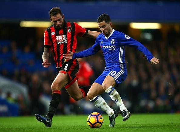 Ghi ban vao luoi Bournemouth,  Hazard di vao lich su Chelsea anh 1
