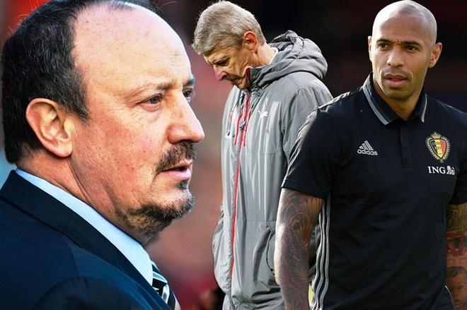Rafael Benitez va Thierry Henry se the cho Wenger hinh anh 1
