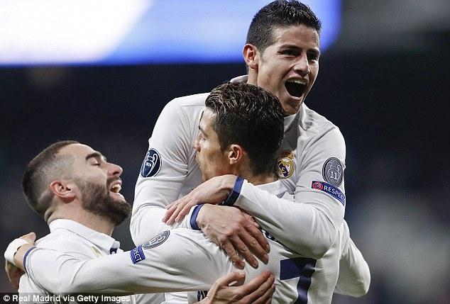 Rodriguez chot tuong lai o Real Madrid anh 1