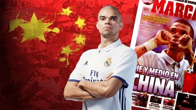 Chia tay Real, Pepe se den Trung Quoc thi dau? hinh anh 1
