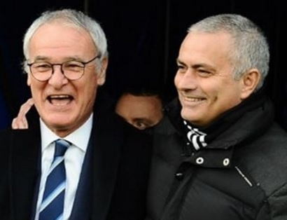 Mourinho dong vien va vinh danh Ranieri hinh anh