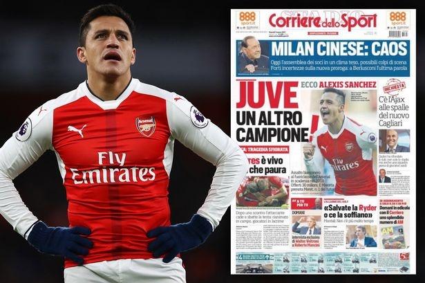 Bao Italy: Juventus dat 25 trieu bang hoi mua Sanchez hinh anh 1