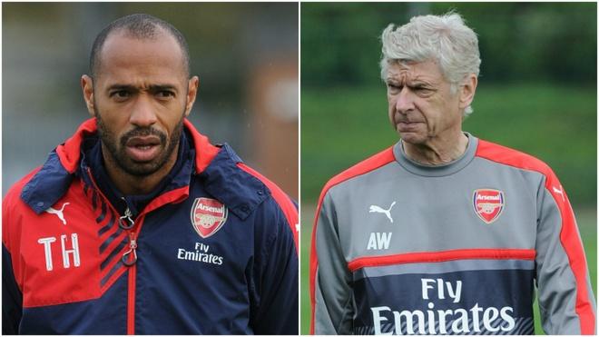 Thierry Henry khuyen Arsenal sa thai HLV Wenger anh 1