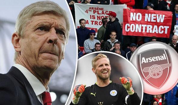 Khong roi Arsenal,  Wenger nham mua thu thanh Kasper Schmeichel anh 1