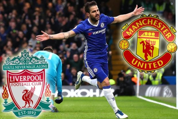 Chuyen nhuong: MU, Liverpool tranh nhau Fabregas hinh anh 1