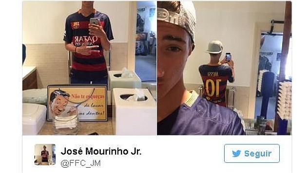 Mourinho om con trai an mung sau tran hoa Celta Vigo hinh anh 7