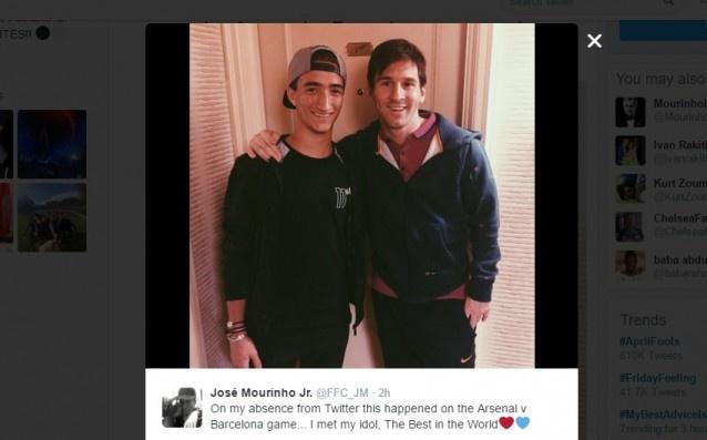 Mourinho om con trai an mung sau tran hoa Celta Vigo hinh anh 8
